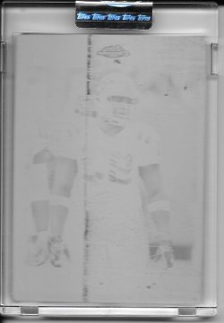 2007 Topps Chrome Black Printing Plate - Dwight Freeney