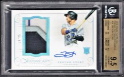 2016   Trevor Story Flawless Silver Parallel 4-CLR RPA /25 BGS 9.5/10