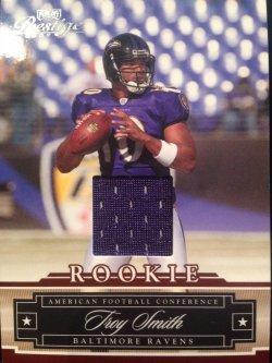 2007 Donruss Playoff Prestige Troy Smith rookie GU