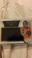 2014 Panini Immaculate Wes Welker