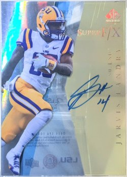 2014 Upper Deck SP Authentic Jarvis Landry super f/x auto