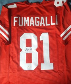 Troy Fumagalli Signed Jersey JSA