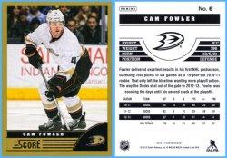 2013-14 Panini Score Gold Parallel Cam Fowler
