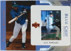 1997 Upper Deck  Alex Rodriguez blue chip prospects