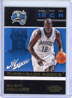 2012-13 Panini Contenders Dwight Howard Throwback Rookie