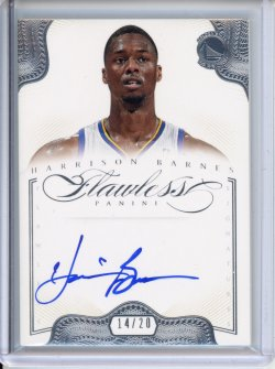 2012-13 Panini Flawless Harrison Barnes Flawless Signatures