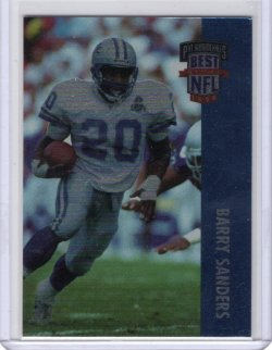 1994 Playoff PS Best of the NFL Barry Sanders