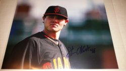 Steven Okert 8x10 Photo IP Autograph