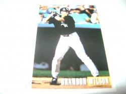 1993 Topps BOWMAN BRANDON WILSON