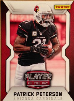 2014 Panini Player of the Day #7 Patrick Peterson paninipod