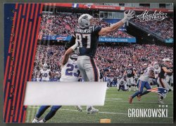 2018  Absolute Panoramic Materials Prime Rob Gronkowski