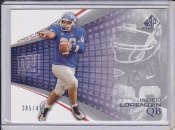 Jared Lorenzen 2004 SP Game Used Edition RC /425