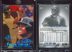 1997  Flair Showcase Legacy Collection Row 0 Frank Thomas