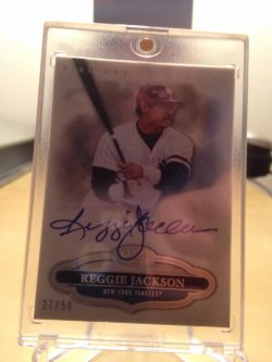 2013 Topps Tier One Auto 27/50