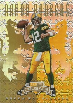 2013 Gold Rodgers /25