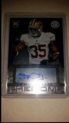 2013 Panini Totally Certified Blue Eric Reid AU
