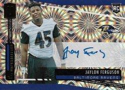 Jaylon Ferguson 2019 Panini Unparalleled RC Auto Fireworks 5 of 5