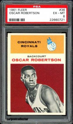 1961 Fleer  Oscar Robertson