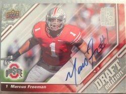 2009 Upper Deck Draft Edition Marcus Freeman rookie auto