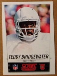 2014 Panini Score NFL Draft Promo #4 - Teddy Bridgewater