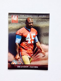 2012 Panini Elite Brandon Jacobs