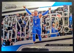 2018-19 Panini Prizm Get Hyped! Russell Westbrook