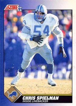 1991  Score Chris Spielman