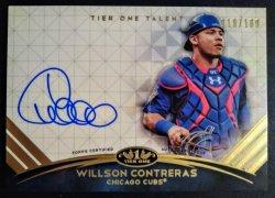 2018 Topps Tier One Talent Autograph Willson Contreras