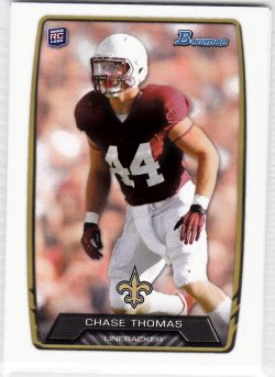2013 Bowman  Chase Thomas RC