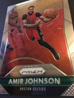 2015 Panini prizm NBA AMIR JOHNSON  #88  Piston/Raptor/Celtics Forward