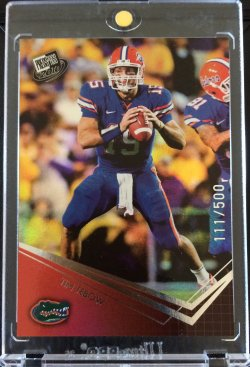 2010 Press Pass  Time Tebow