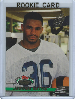 1993 Topps Stadium Club Jerome Bettis