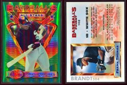 1993  Finest Refractors AS Frank Thomas