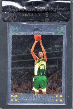 2007-08   Kevin Durant Topps Chrome Base RC