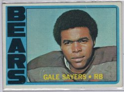 1972 Topps Topps Gale Sayers Base