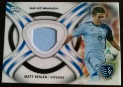 2013 Topps MLS Kits Relics Set Matt Besler