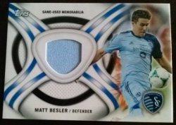 2013 Topps MLS Kits Relics Set Matt Besler