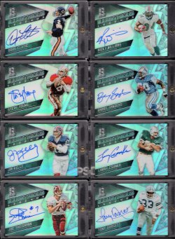 2016   Spectra Illustrious Legends Refractor Auto Set #1
