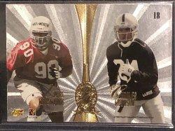 1998 Playoff Absolute Platinum Quads #18 Peyton Manning/Ryan Leaf/Andre Wadsworth/Charles Woodson