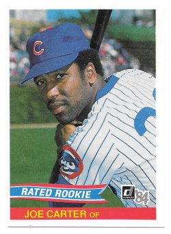 1984 Donruss Donruss Joe Carter (Rated Rookie)