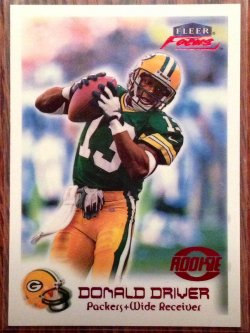 1999 Fleer Focus Donald Driver RC