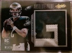 2013 Panini Absolute Absolute Prime Patch Matt Barkley