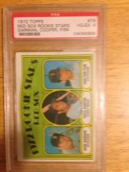1972 Topps  Fisk rc