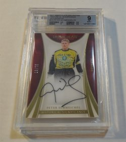 2017 Panini Immaculate Collection Peter Schmeichel Historical Significance auto