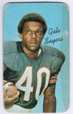 1970 Topps Topps Jumbo Gale Sayers Base