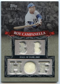 2009 Topps Sterling Roy Campanella Career Chronciles Relics