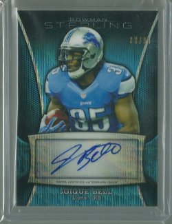 2013 Bowman Sterling Joique Bell - Blue Wave