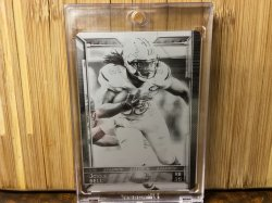 2015 Topps  Joique Bell - Black Plate