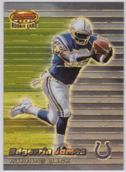1999 Bowman  Edgerrin James