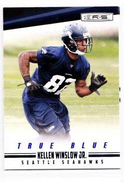 2012 Panini Rookies and Stars True Blue Kellen Winslow Jr